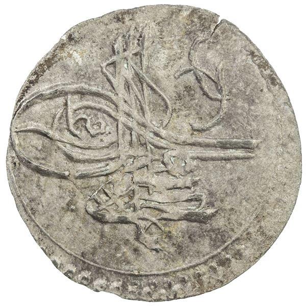 TURKEY: Ahmed III, 1703-1730, AR akce (0.18g), AH1115. AU