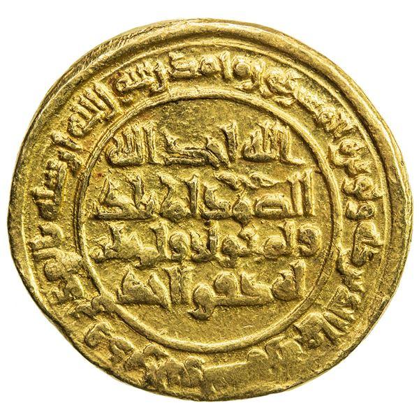 SAMANID: Nuh II, 943-954, AV dinar (4.17g), al-Muhammadiya, AH333. EF