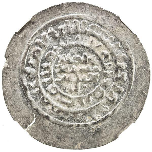 SAMANID: 'Abd al-Malik I, 954-961, AR dirham, NM, ND. NGC MS63