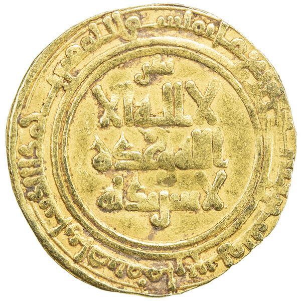 KAKWAYHID: 'Ala al-Dawla Muhammad, 1008-1041, AV dinar (4.18g), Isbahan, AH432. VF