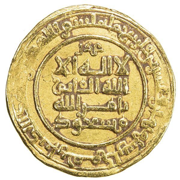 KAKWAYHID: 'Ala al-Dawla Muhammad, 1008-1041, AV dinar (3.54g), Hamadan, AH428. VF