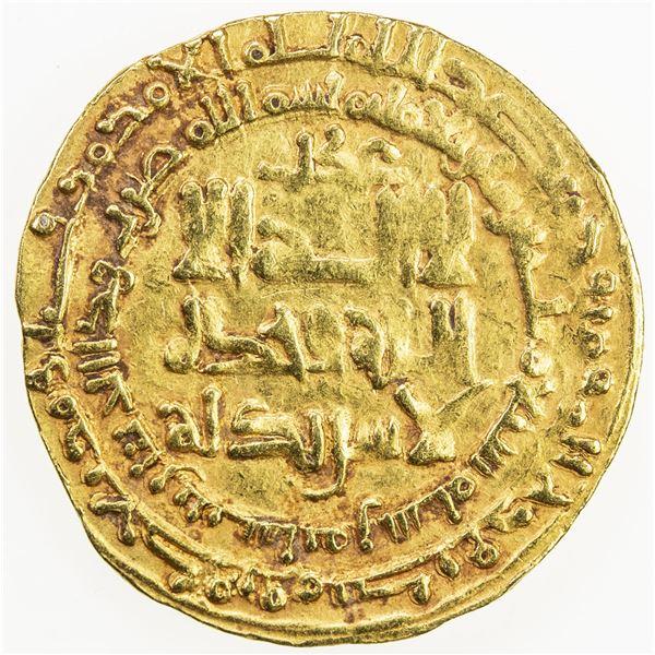 GREAT SELJUQ: Tughril Beg, 1038-1063, AV dinar (3.88g), Nishapur, AH437. VF