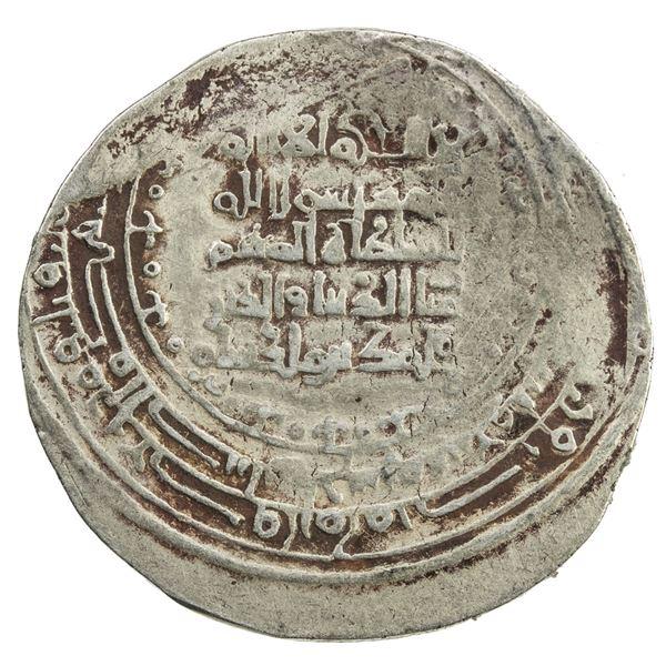 GREAT SELJUQ: Sanjar, as viceroy of the east, 1098-1117, pale AV dinar (3.57g), Balkh, AH499. VF