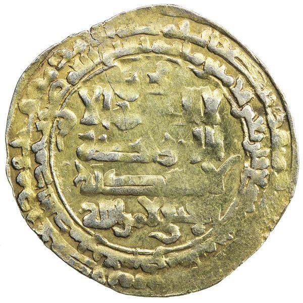 SELJUQ OF WESTERN IRAN: Malikshah III b. Mahmud, 1152-1153, AV dinar (2.77g), 'Askar Mukram, AH549 (