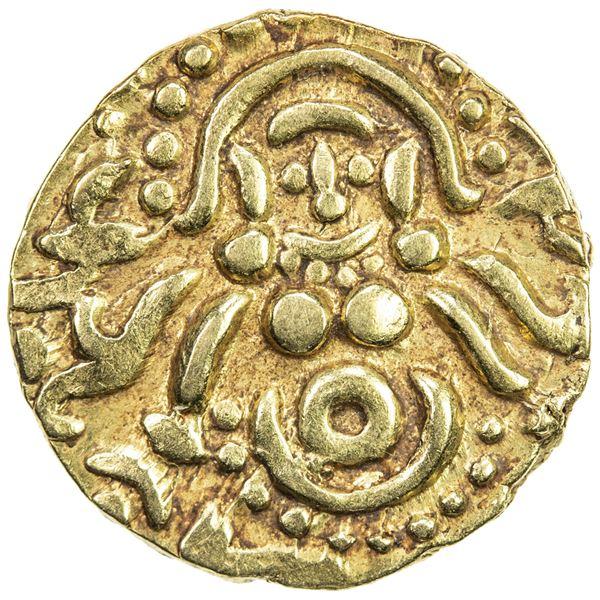 GHORID: Mu'izz al-Din Muhammad, 1171-1206, AV dinar (4.20g). EF