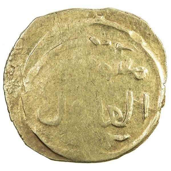 GREAT MONGOLS: Mongke, 1251-1260, AV dinar (3.36g), [Marw], AH6xx. F
