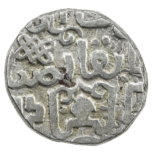 GREAT MONGOLS: Anonymous, ca. 1240s-1260s, AR dirham (2.26g), NM, ND. VF