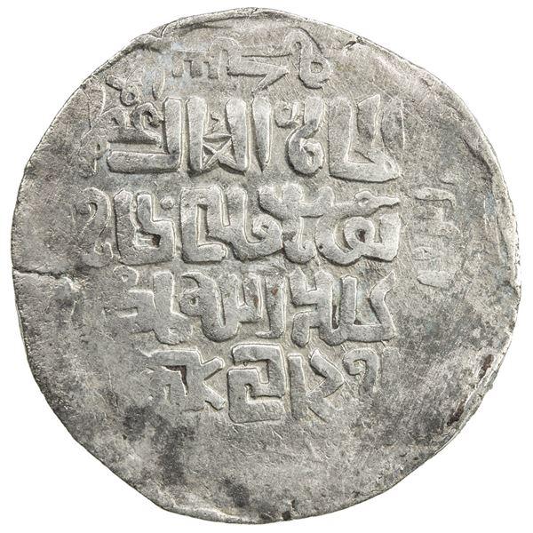 CHAGHATAYID KHANS: Buyan Quli Khan, 1348-1359, AR dinar (5.98g), Otrar, AH(752). VF