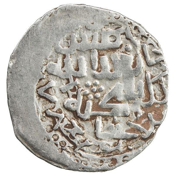 CHAGHATAYID KHANS: Suyurghatmish, 1370-1388, AR 1/6 dinar (0.98g), Badakhshan, AH778. VF