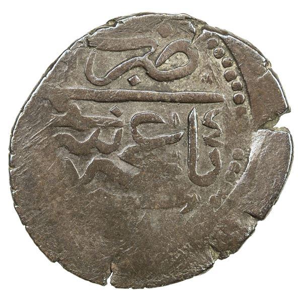 GIRAY KHANS: Shahin Giray, 1777-1783, BI kara-onluk (3.30g), Baghcha-Saray, AH1191 year 4. VF