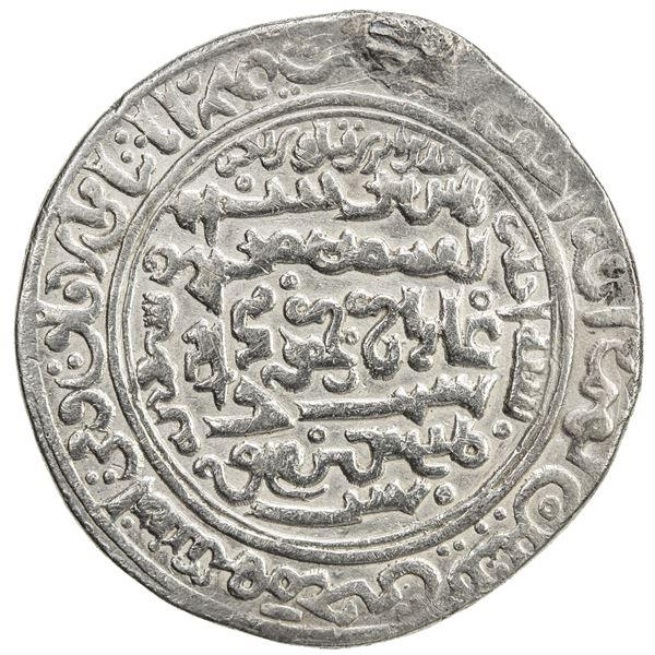 ILKHAN: Ghazan Mahmud, 1295-1304, AR dinar (6 dirhams) (12.81g), Hamadan, AH701. VF