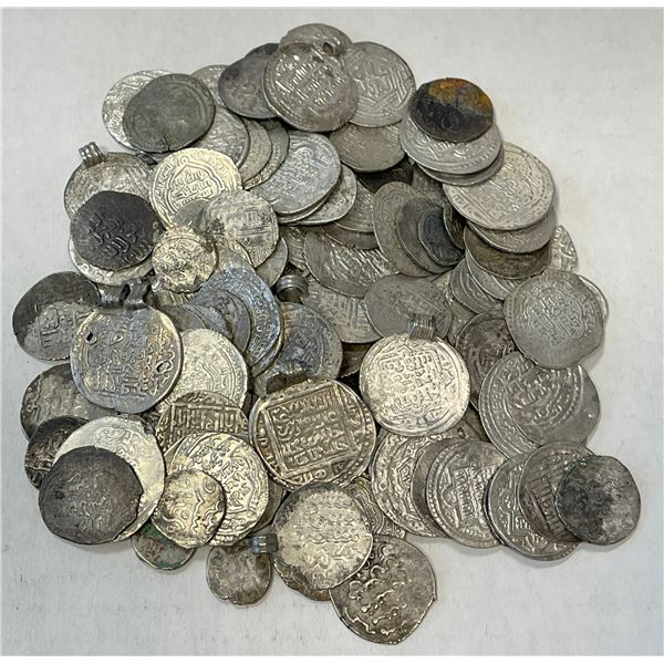 ILKHAN: LOT of 115 silver coins