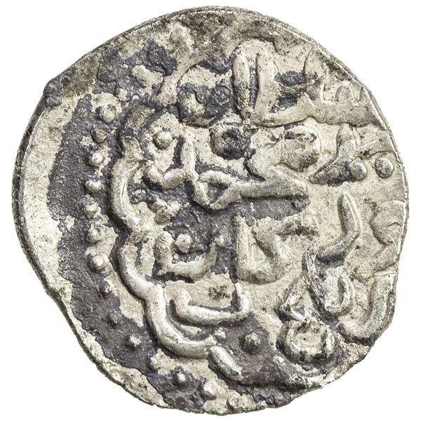 """TIMURID: Pir Muhammad b. Jahangir, 1405-1406, AR 1/4 tanka (""""miri"""") (1.41g), Balkh, AH807. VF-EF"""