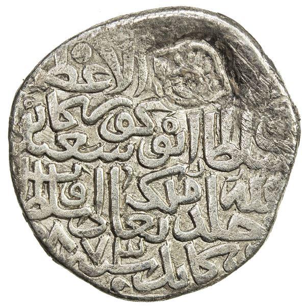 TIMURID: Abu Sa'id, 1451-1469, AR tanka (4.69g), Kabul, AH873. VF