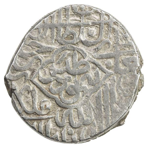 TIMURID: Sultan Husayn, 1469-1506, AR tanka (4.84g), Tabas, ND. VF