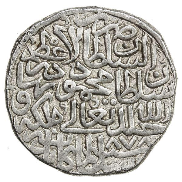 TIMURID: Sultan Mahmud, 2nd reign, 1469-1495, AR tanka (4.87g), Kabul, AH878. EF