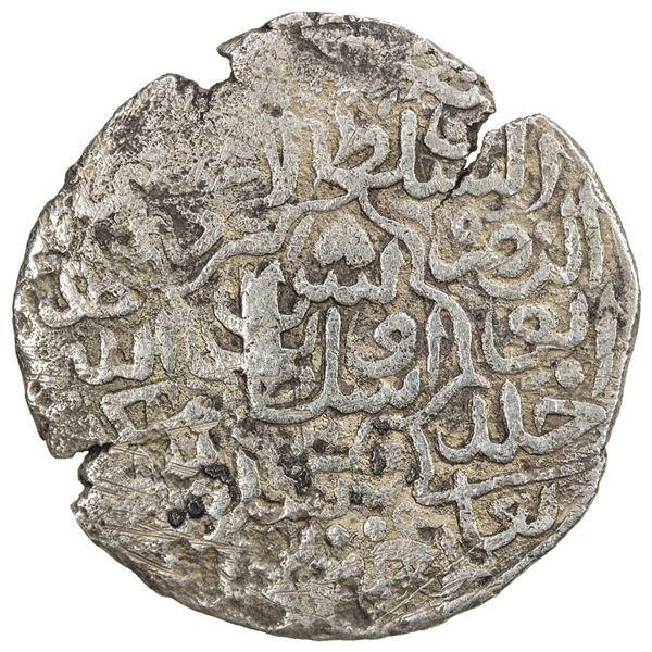 TIMURID: Sultan Uways, 1507-1521, AR tanka (3.84g), NM, ND. VF