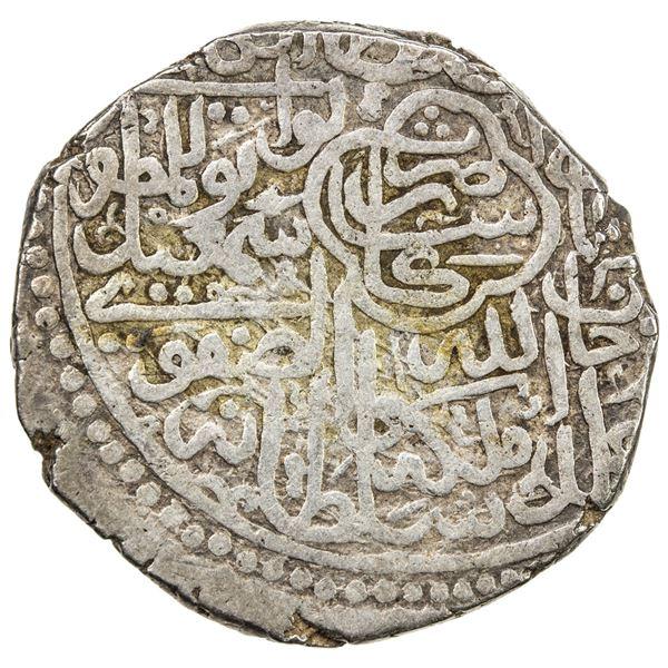 SAFAVID: Isma'il I, 1501-1524, AR 2 shahi (18.62g), Kashan, ND. VF