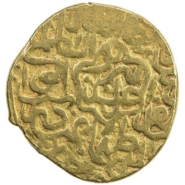 SAFAVID: Tahmasp I, 1524-1576, AV mithqal (4.66g), Tabriz, AH930. VF