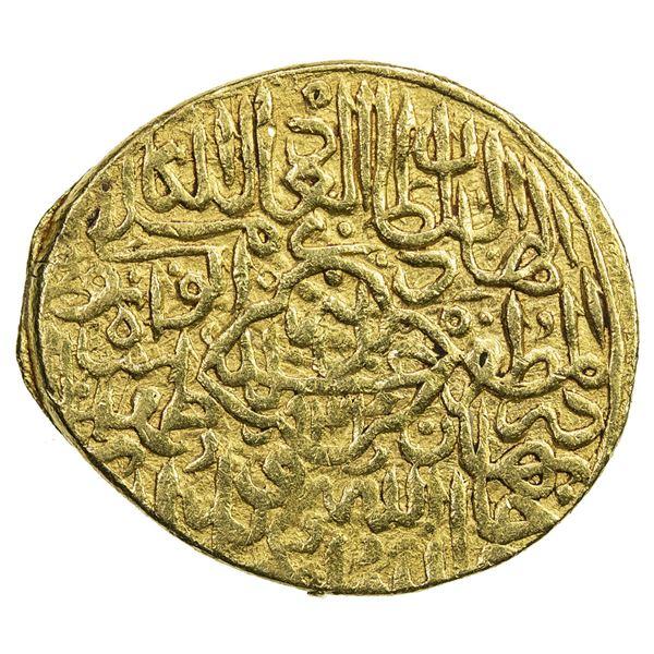 SAFAVID: Tahmasp I, 1524-1576, AV mithqal (4.64g), Tabriz, AH934. VF