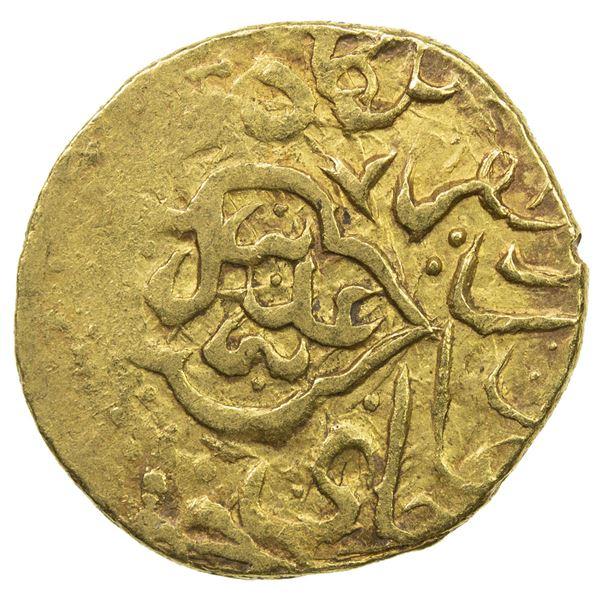 SAFAVID: Tahmasp I, 1524-1576, AV mithqal (4.61g), Tabriz, ND. F-VF