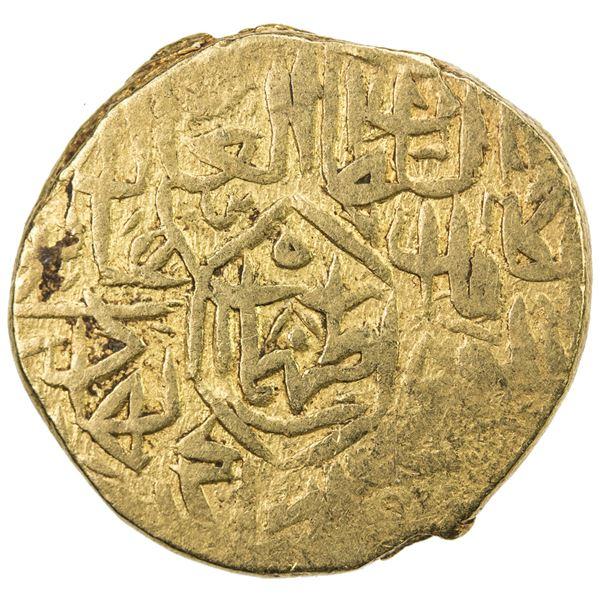 SAFAVID: Tahmasp I, 1524-1576, AV mithqal (4.65g), NM, ND. F