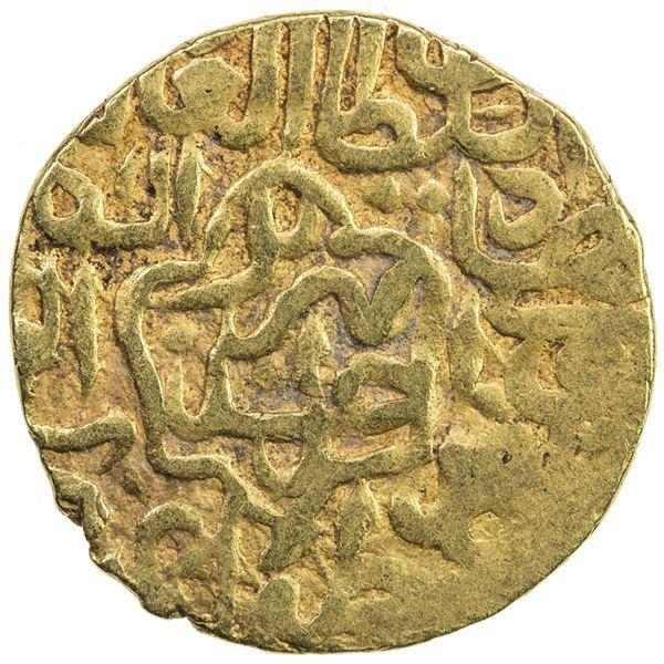 SAFAVID: Tahmasp I, 1524-1576, AV 1/2 mithqal (2.27g), Tabriz, AH930. VF