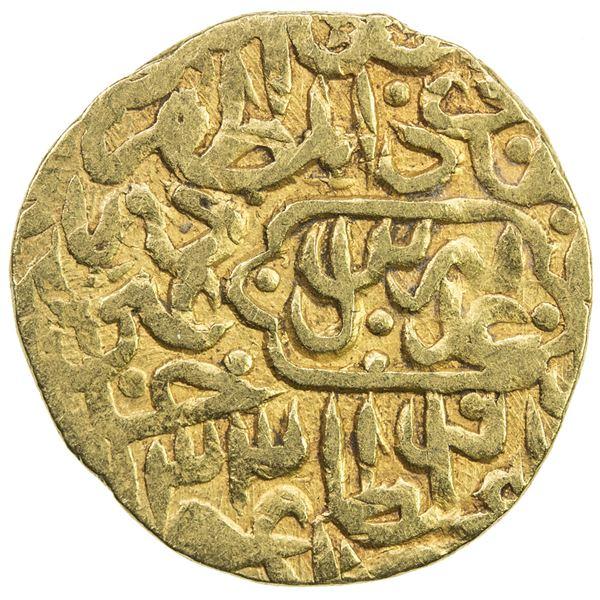 SAFAVID: Tahmasp I, 1524-1576, AV 1/2 mithqal (2.26g), Tabriz, AH933. F-VF