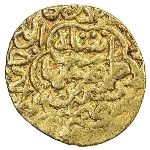 SAFAVID: Tahmasp I, 1524-1576, AV unit (2.57g), Tabriz, ND. VF