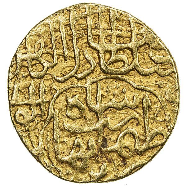 SAFAVID: Tahmasp I, 1524-1576, AV unit (2.59g), Tabriz, ND. VF