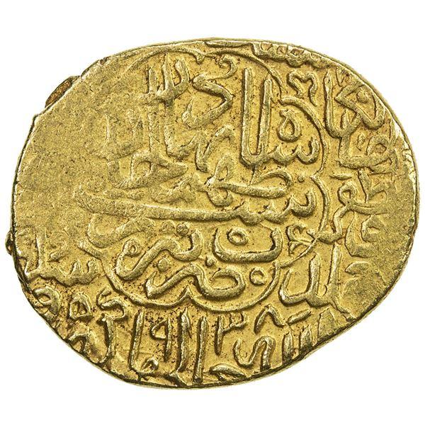 SAFAVID: Tahmasp I, 1524-1576, AV heavy ashrafi (3.92g), Tabriz, AH938. VF