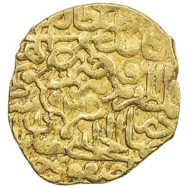 SAFAVID: Tahmasp I, 1524-1576, AV heavy ashrafi (3.87g), Tabriz, AH938. VF