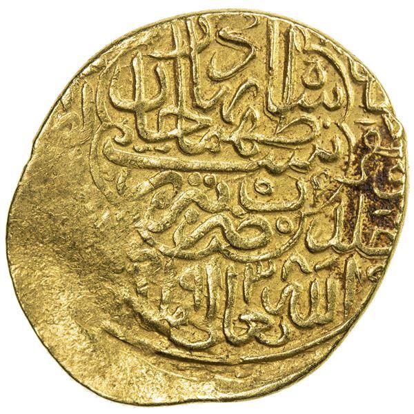 SAFAVID: Tahmasp I, 1524-1576, AV heavy ashrafi (3.88g), Tabriz, AH938. VF