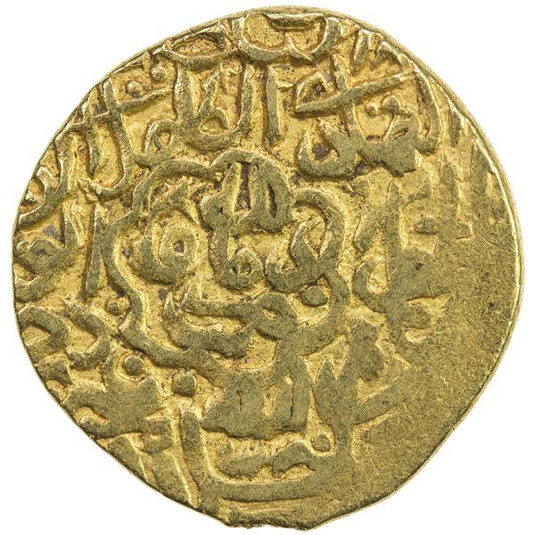 SAFAVID: Tahmasp I, 1524-1576, AV mithqal (4.65g), Damavand, ND. VF