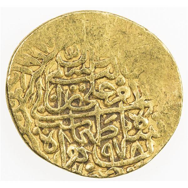 SAFAVID: Tahmasp I, 1524-1576, AV 1/2 mithqal (2.30g), Herat, AH978. VF