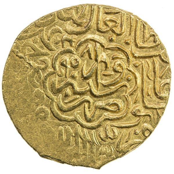 SAFAVID: Tahmasp I, 1524-1576, AV 1/2 mithqal (2.33g), Sabzawar, AH958. EF