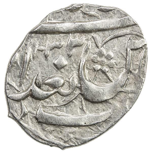 SAFAVID: 'Abbas I, 1588-1629, AR bisti (0.77g), Baghdad, AH1033. EF