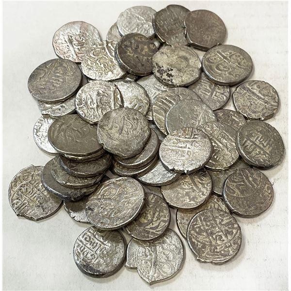 SAFAVID: 'Abbas I, 1588-1629, LOT of 50 silver abbasis