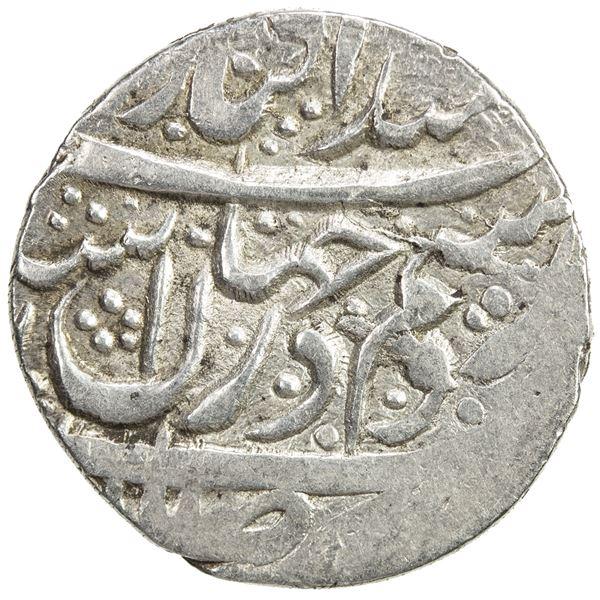 ZAND: 'Ali Murad Khan, 1781-1785, AR 1/3 rupi (3.80g), Rasht, ND/DM