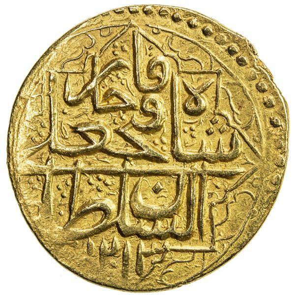 QAJAR: Fath 'Ali Shah, 1797-1834, AV toman (6.18g), Rasht, AH1213. EF