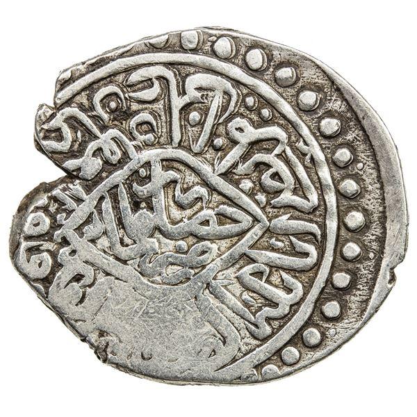 AMIR OF QUNDUZ: Amir Khusraw, 1497-1505, AR tanka (4.73g), Hisar Shadiman, ND. VF