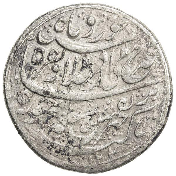 DURRANI: Taimur Shah, 1772-1793, AR rupee (11.1g), Balkh, AH1204//1205