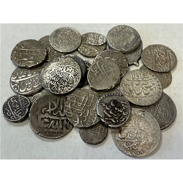 MEDIEVAL ISLAMIC: IRAN & AFGHANISTAN: LOT of 27 silver coins