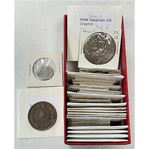 MEDIEVAL ISLAMIC: LOT of 26 silver & 2 copper coins