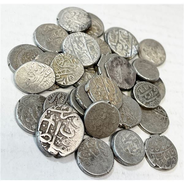 MEDIEVAL ISLAMIC: LOT of 31 silver & 1 copper coins