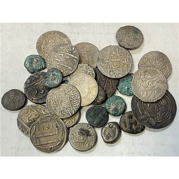 MEDIEVAL ISLAMIC: LOT of 29 coins