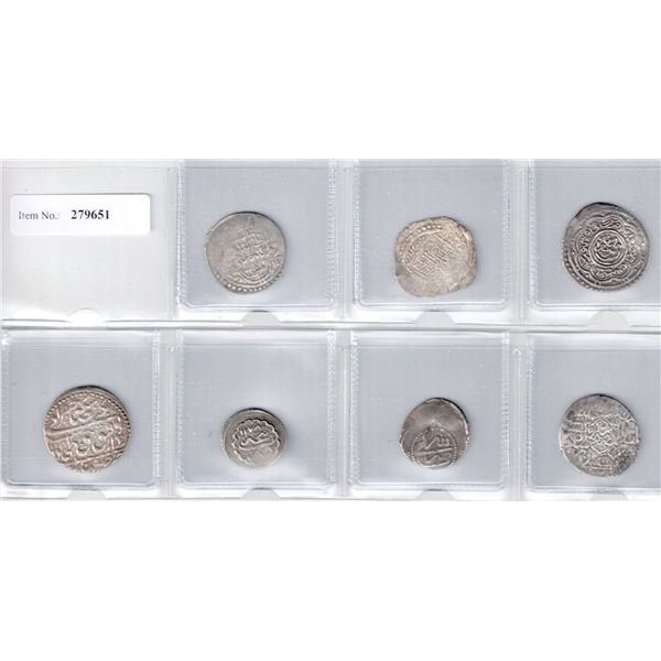MEDIEVAL ISLAMIC: LOT of 7 better coins