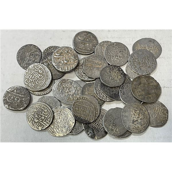 MEDIEVAL ISLAMIC: LOT of 32 silver coins