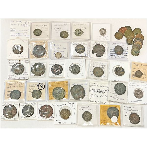 MEDIEVAL ISLAMIC: LOT of 32 medieval coins