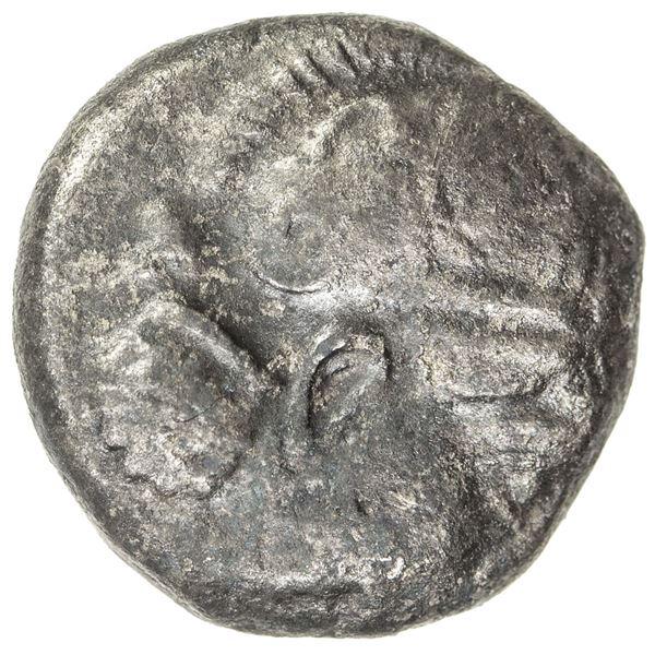 INDO-GREEK: Athenian series, ca. 260-240 BC, AR drachm (3.62g). F-VF